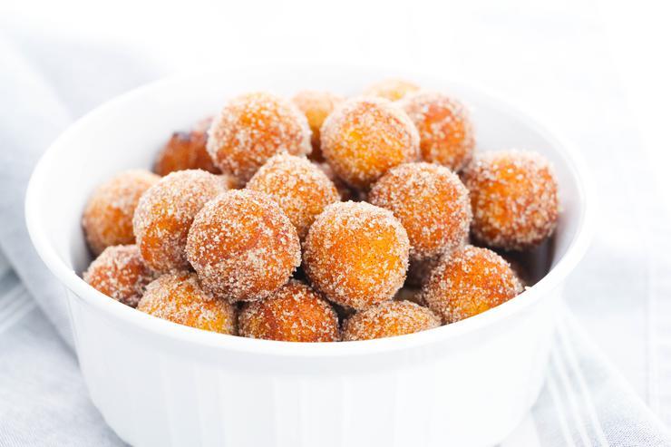 Cinnamon Sugar Donut Holes
